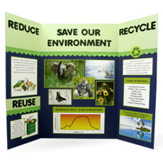 elmer foam board and display boards are for science fair projects school projects craft projects around the office and more - Tri Fold Display Board Design Ideas