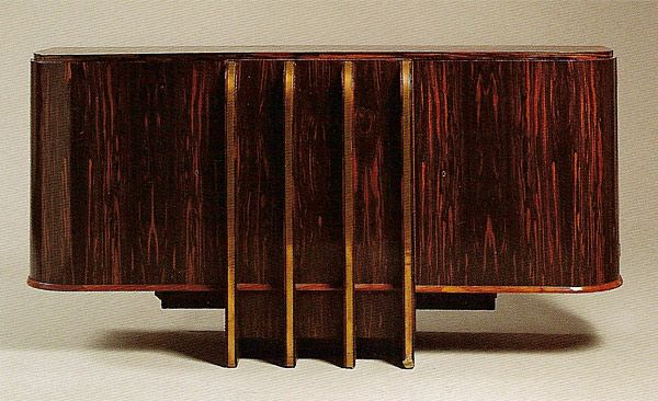 French Art Deco: Modernist sideboard by Michel DUFET.