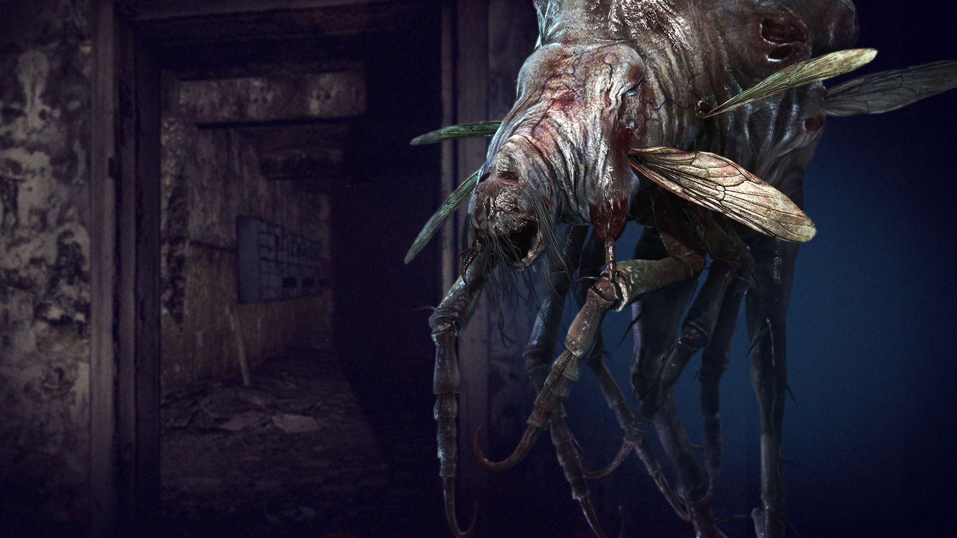 ผลการค้นหารูปภาพสำหรับ resident evil 7 bug