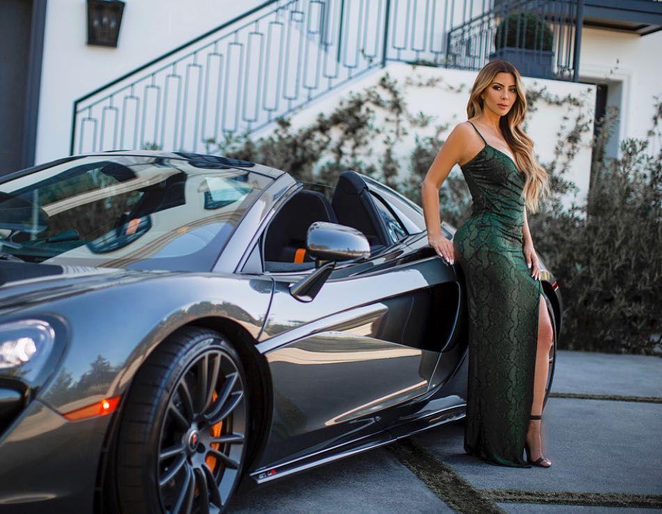 Photo of Larsa Pippen  - car