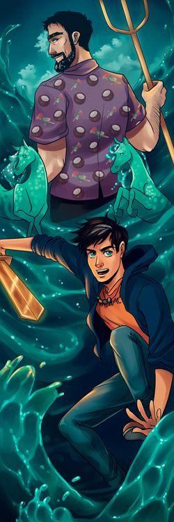 Poseidon and Percy