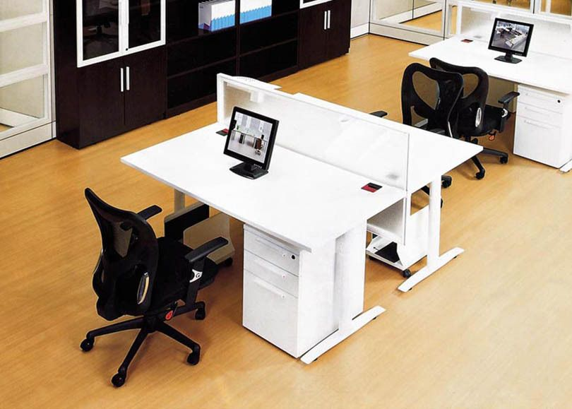 Dual Workstation Office Furniture Desk Double Face To Face Office