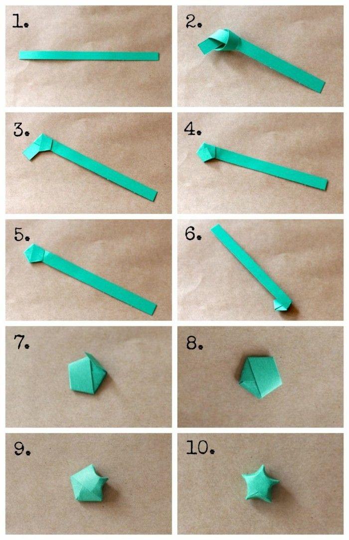 Sterne basteln für Weihnachten - mit Origami Anleitung klappt´s besser #origamianleitungen