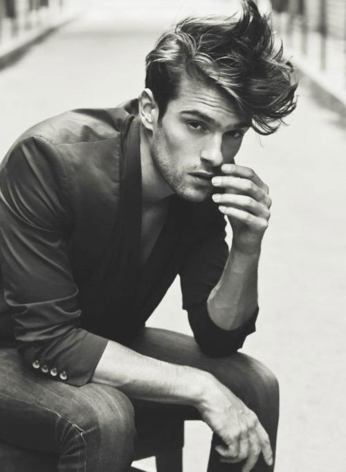 AG Man | The Modern Day Pompadour. A Little Messier And A Little Flatter  This