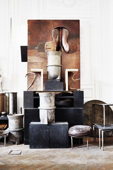 Vosgesparis The World Of Rick Owens Interiors