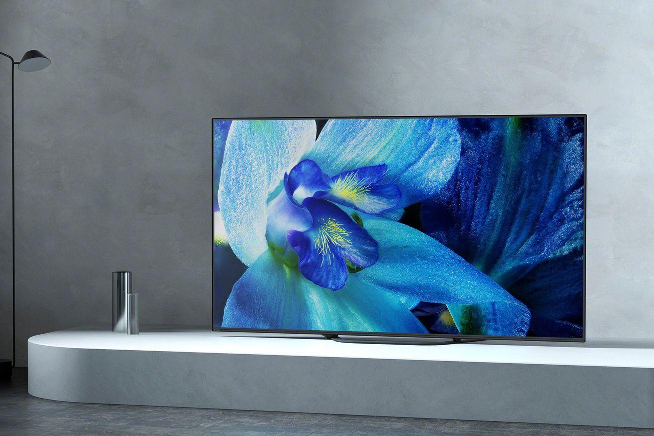 Sony S New 4k Oled Tvs Start At 2 499 99 Sony Tv Sony Tv Display