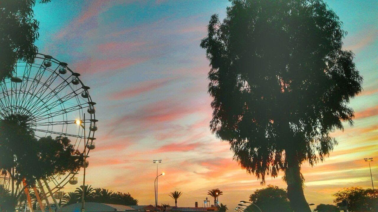 أجمل غروب الشمس مع موسيقى The Most Beautiful Sunset With Music Fair Grounds Travel Grounds