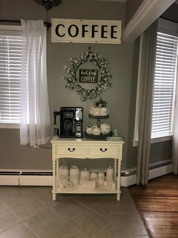 Image result for small space coffee bar ideas | Coffee bar ...