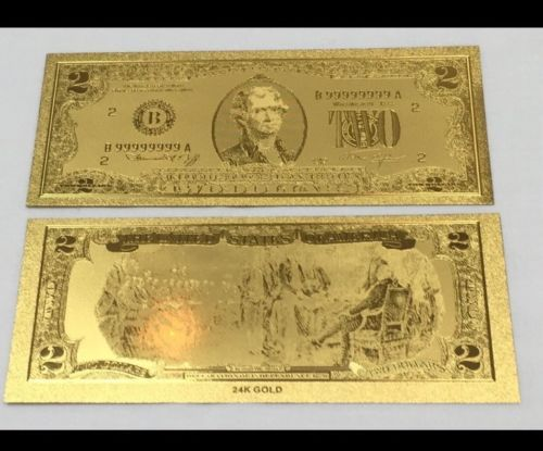 GOLD $1+SILVER $1  COLORIZED SILVER $2 RARE !!AMAZING SET*,4 BEAUTIFUL GOLD $2