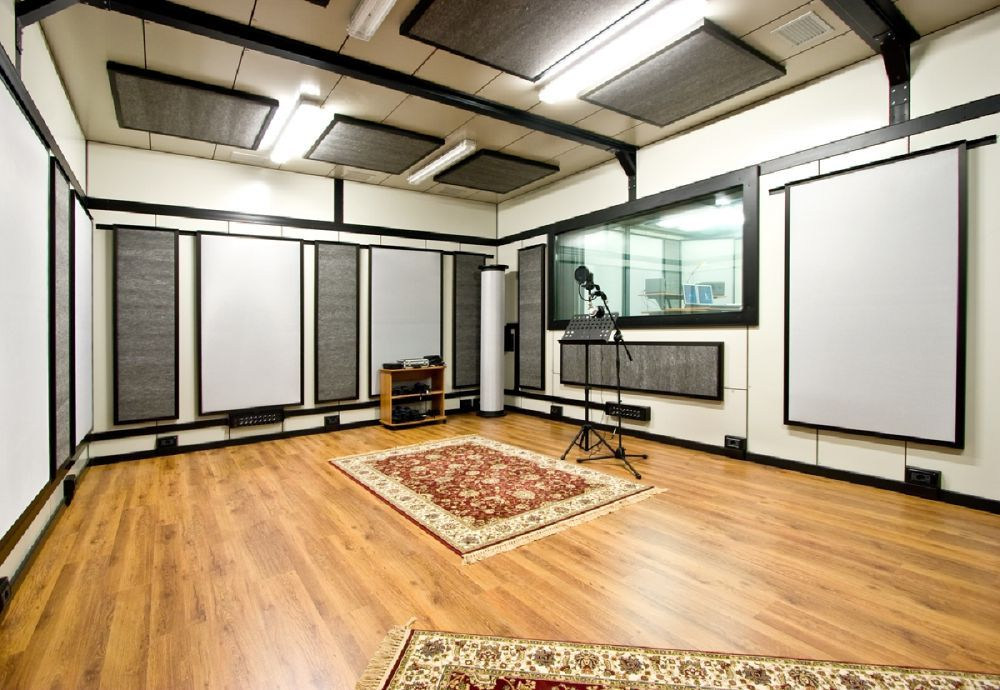 floors soundproofing aesthetics pinterest acoustic spaces and studio. Black Bedroom Furniture Sets. Home Design Ideas