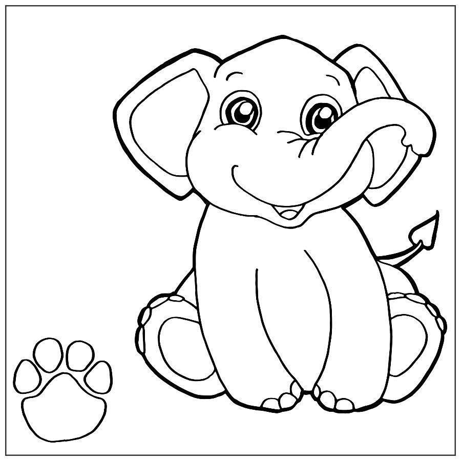 Colorear Elefante Online Cientos De Imagenes De Elefantes Para Colorear Online E Impri En 2020 Elefantes Para Colorear Elefantes Pintados Dibujos De Elefantes