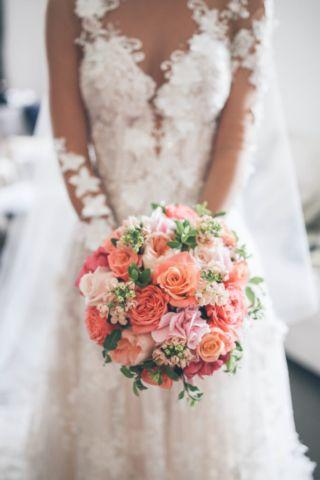 Lovisa & Jason's Bright & Beautiful Summer Wedding - Mary Jane Vaughan - creative florists in Battersea, London