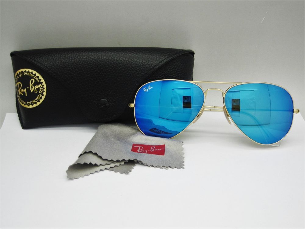 7f199847bc9 RAY-BAN RB3025 Original Aviator Large 58mm Metal Sunglasses With Case (eBay  Link)