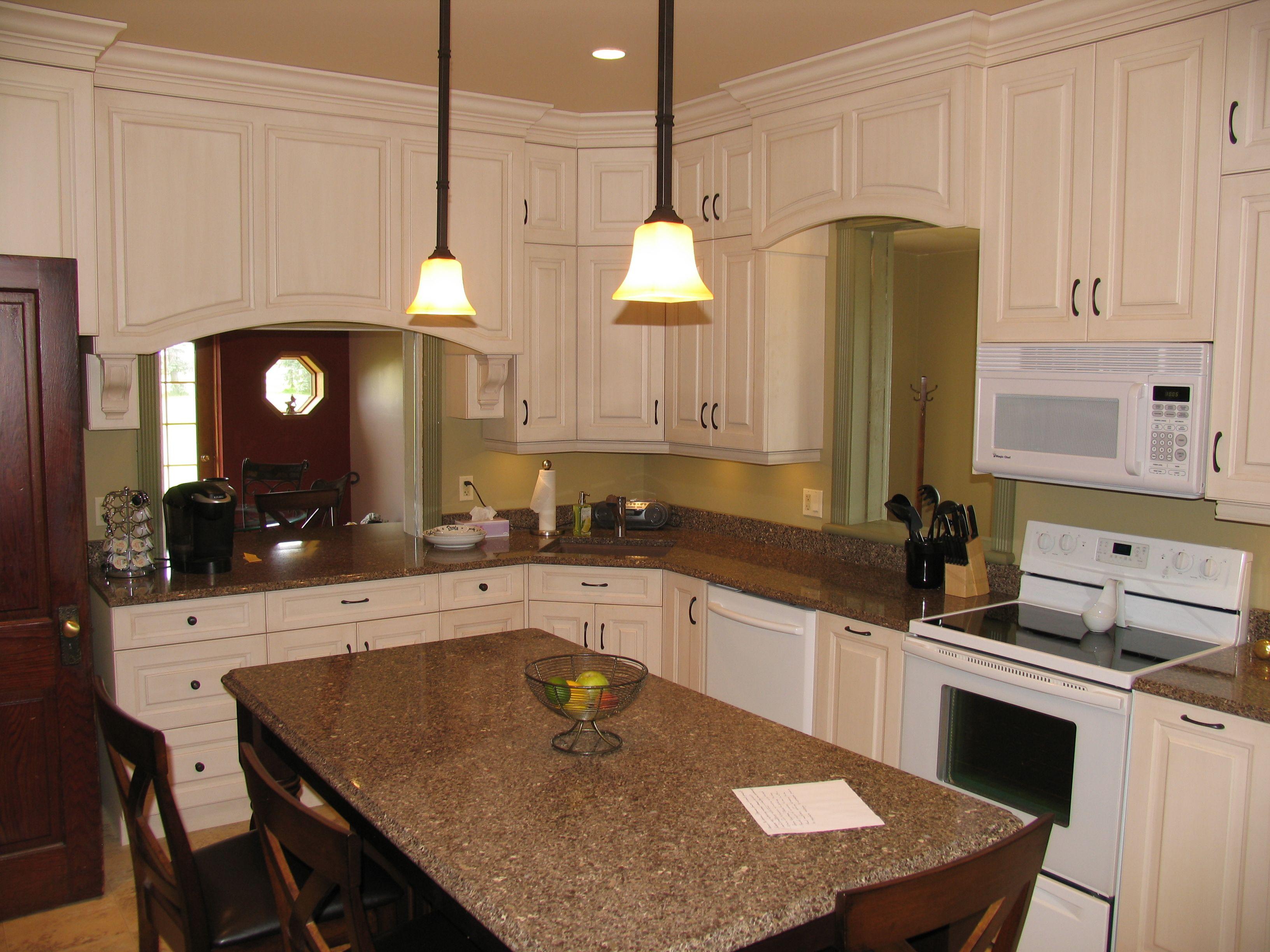 Best Kitchen Cabinets Maple Irish Cream Island Cabinets 400 x 300