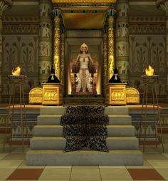 ancient egyptian throne room - Google Search   royalty ...  ancient egyptia...