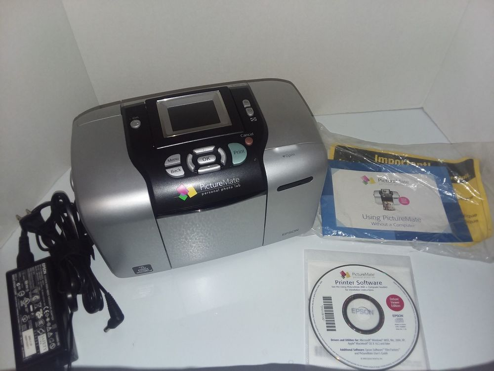 Epson Picturemate Personal Photo Lab With Paper Ebay Ebay輸出