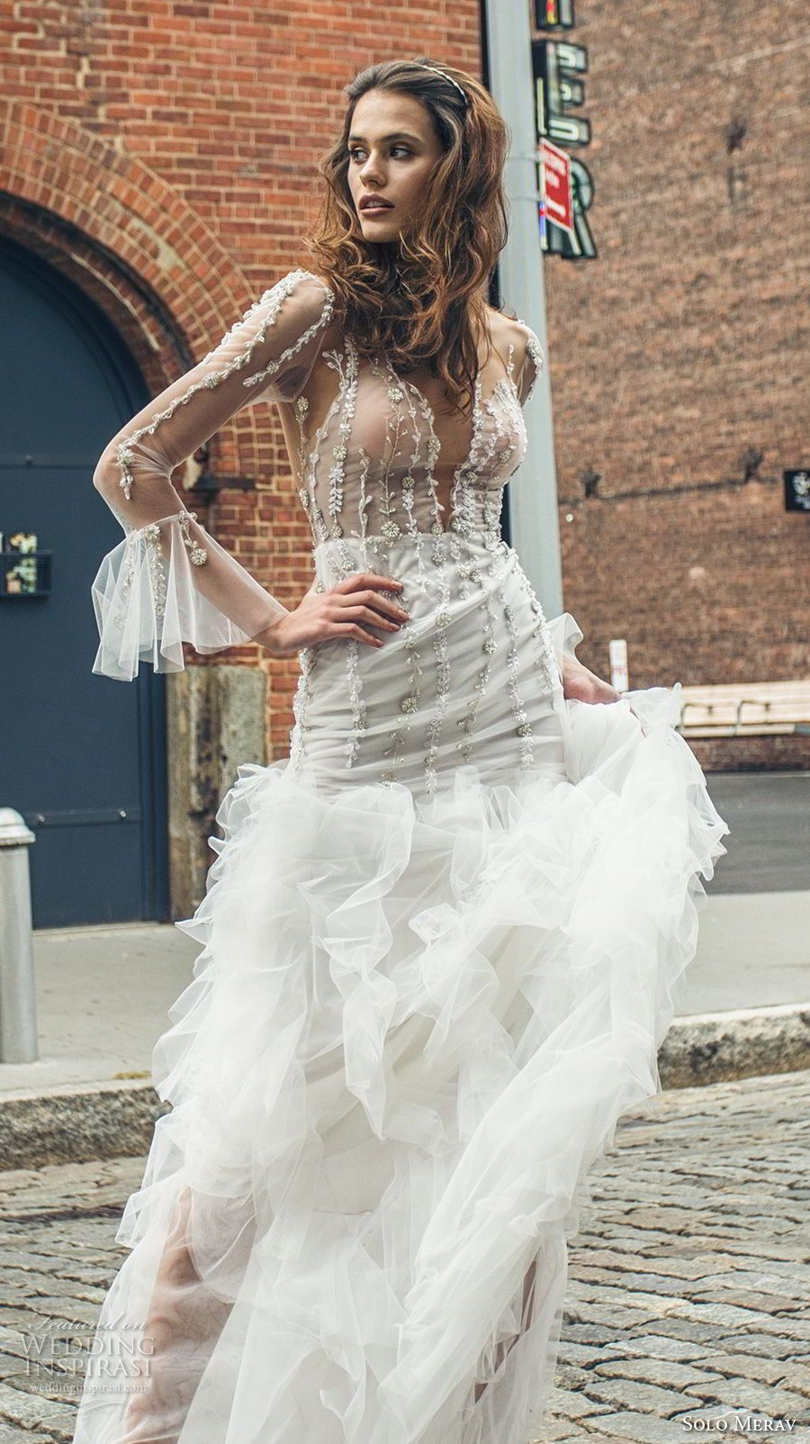 Solo merav wedding dresses u ucwhite princessud bridal collection