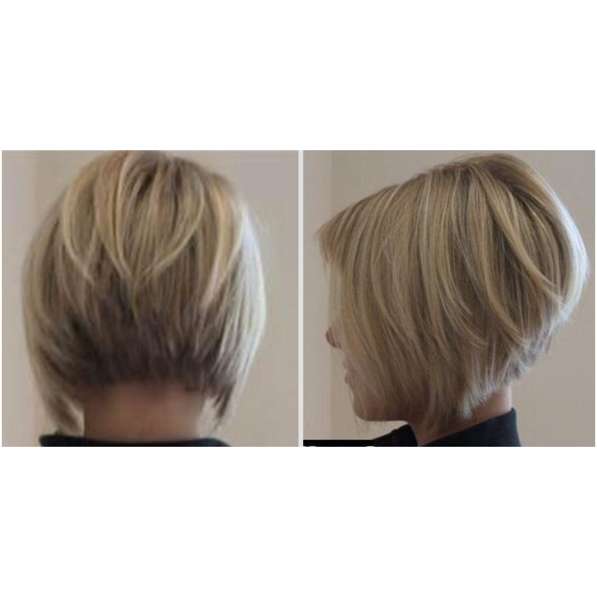 Astounding Bob Haircut Back Bob Haircuts And Haircuts On Pinterest Short Hairstyles Gunalazisus
