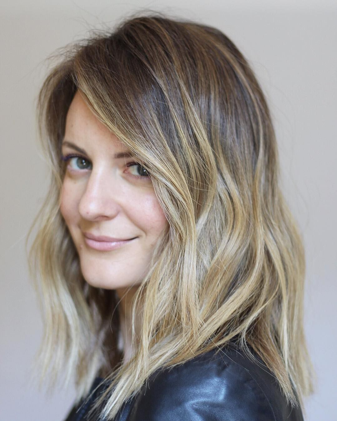 Dimensional and Wavy Bronde | Hair | Pinterest