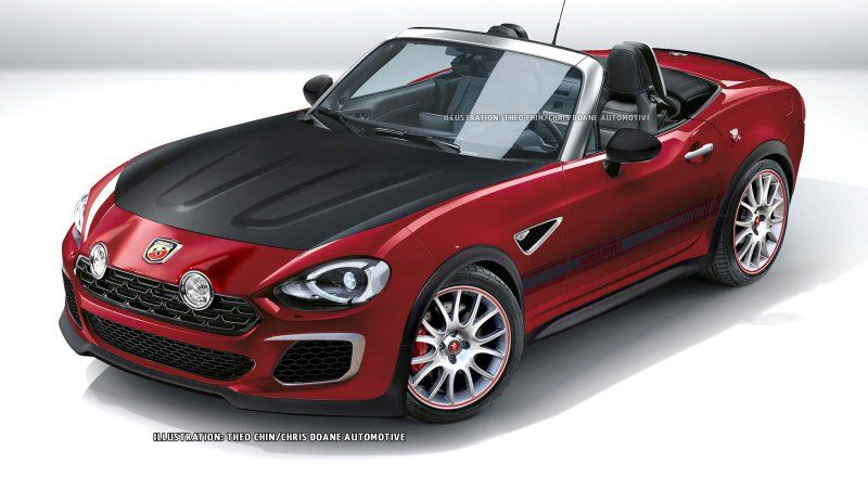 will the fiat 124 spider get an abarth model fiat 124 spider fiat and spider. Black Bedroom Furniture Sets. Home Design Ideas