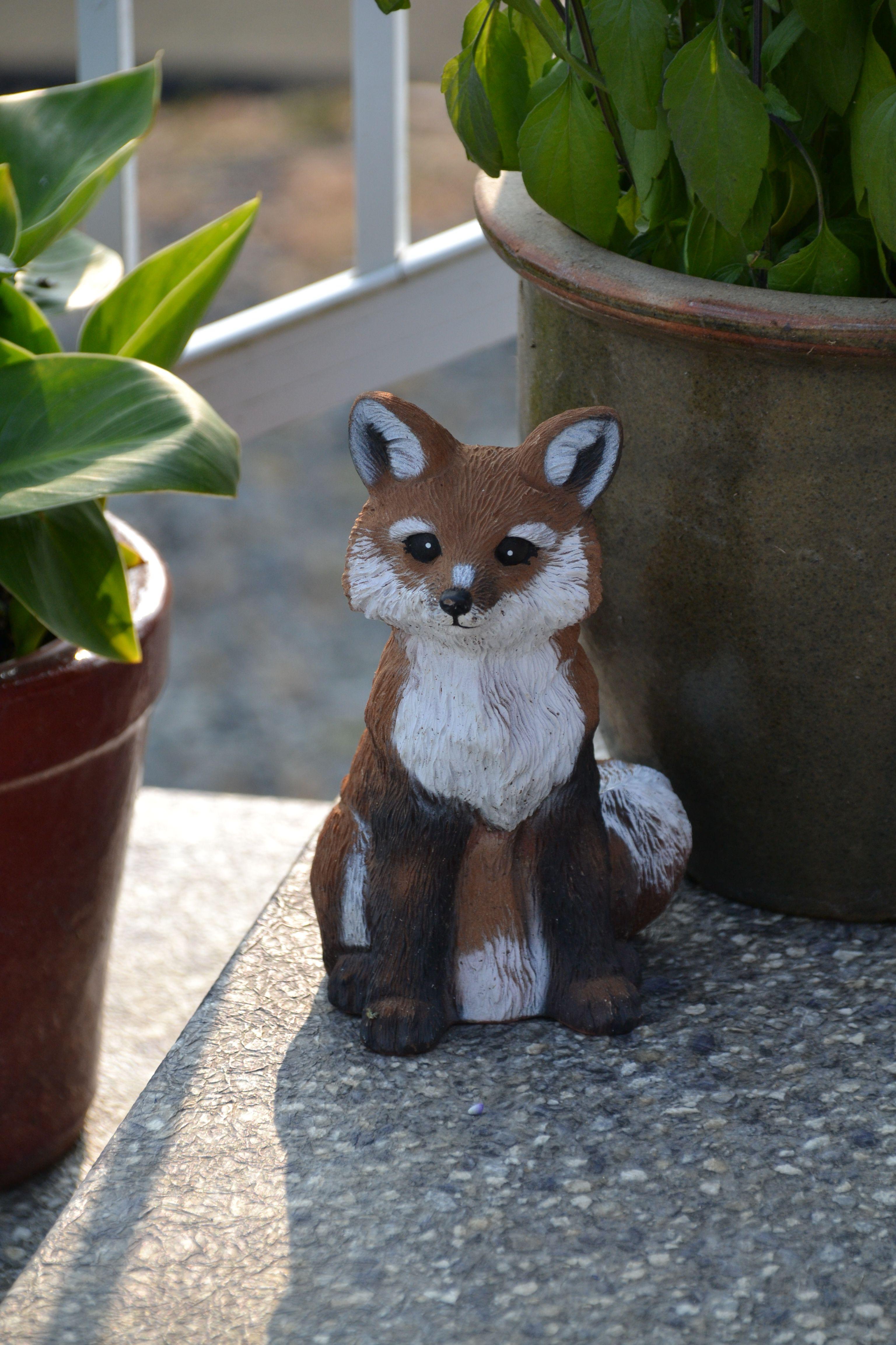Our Fox Mascot.