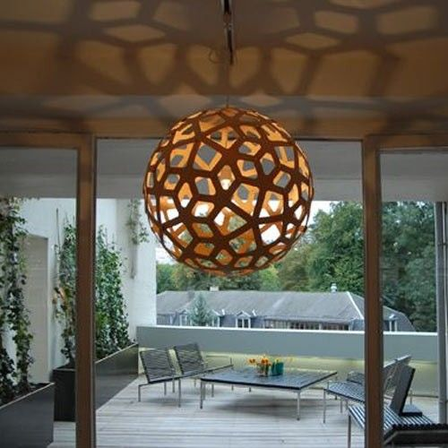 Elegant My Design Within Reach (Contract) Rep Showed Me These Yesterday: David  Trubridge Lighting  Coral Fixture  LOVE The Shadow Effect. Awesome Design