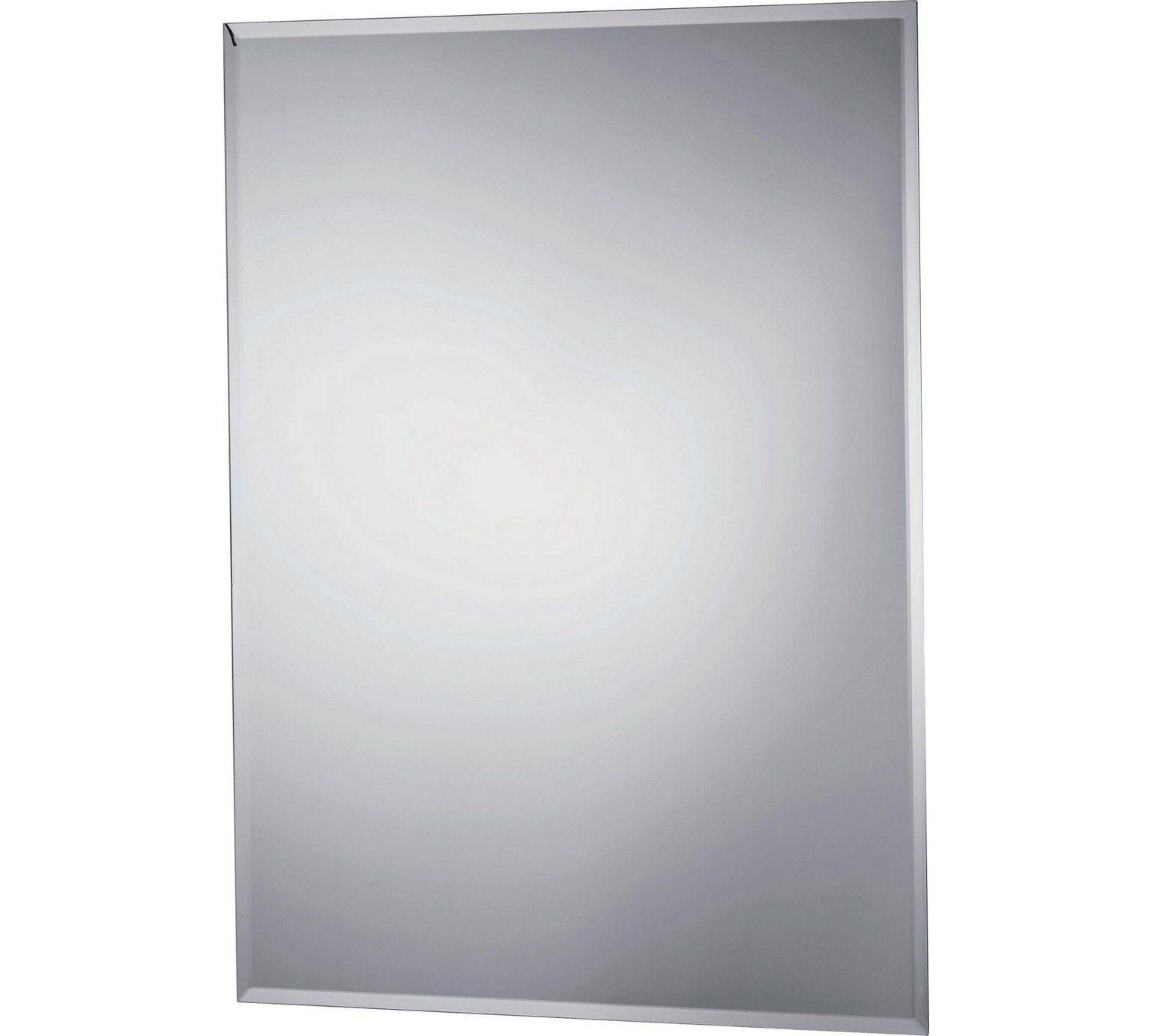Buy Argos Home Rectangular Bevelled Bathroom Mirror Silver Mirrors Argos Bathroom Mirror Argos Home Wall Mounted Mirror