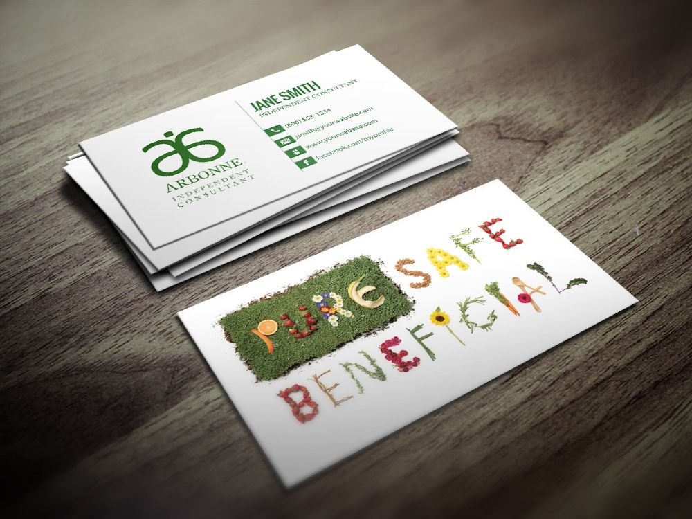 Arbonne Business Cards Free Shipping Arbonne Business Cards Cards Free Business Cards