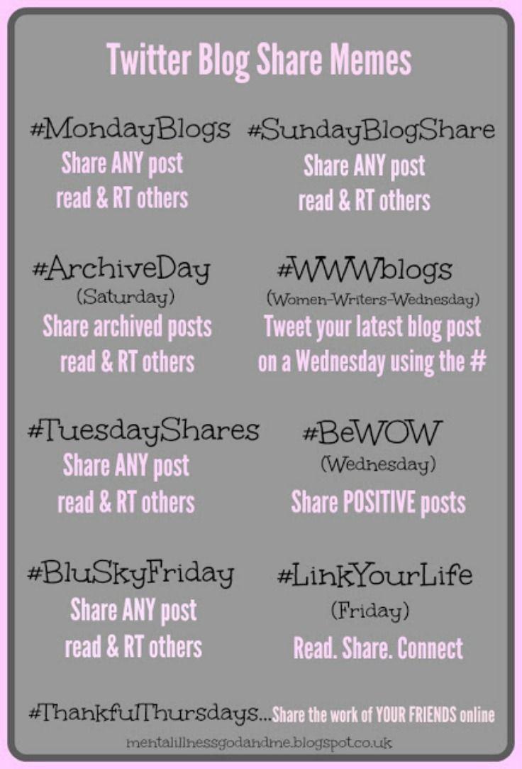 411671fcf Twitter blog share memes Hashtags