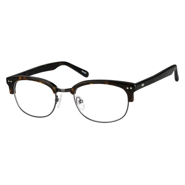 26c1b3eabc Tortoiseshell Browline Glasses  679425