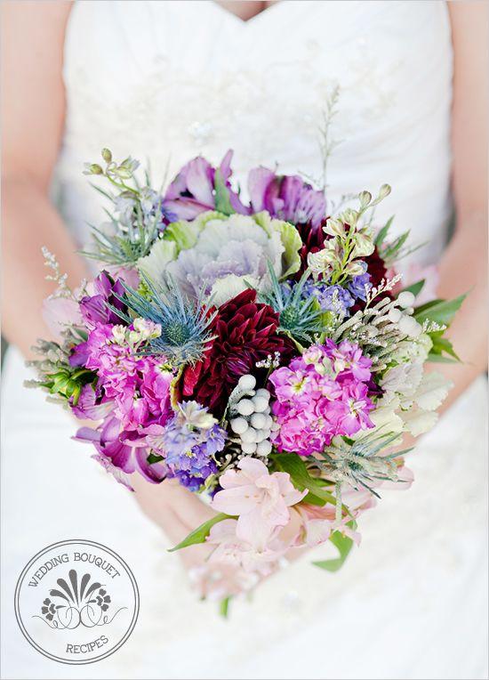 spring wildflower bouquet