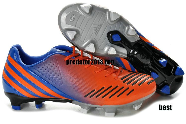 1da71aade82e sweden adidas predator lz trx fg safety orange blue metallic silver beckham  soccer shoes 65.99 c573b