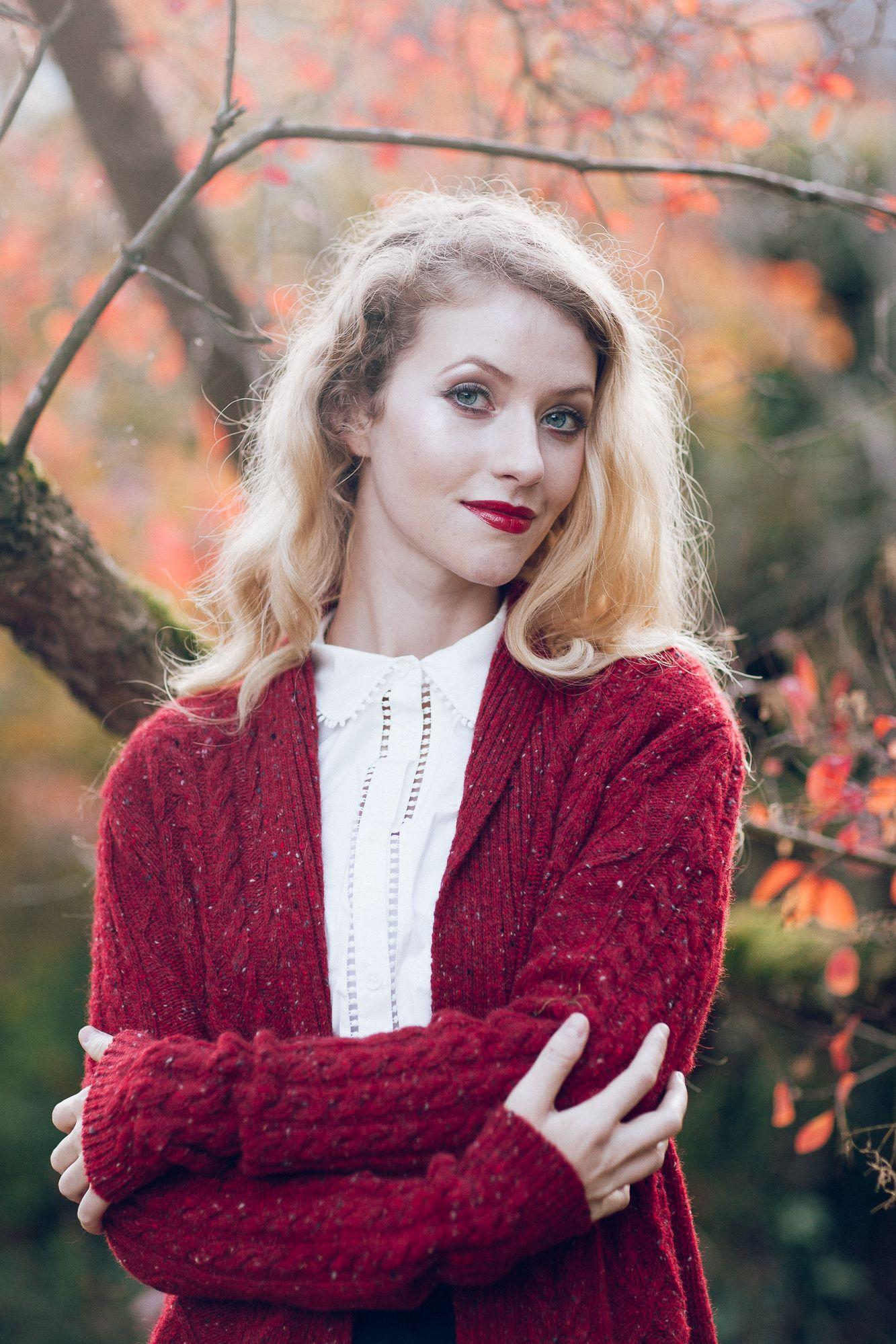 Aran cardigan knitted jacket red Knit cardigan, Aran