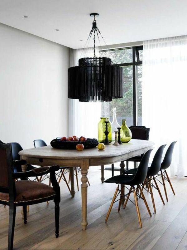 Fantastisch Luxus Esszimmerlampen In Schwarz
