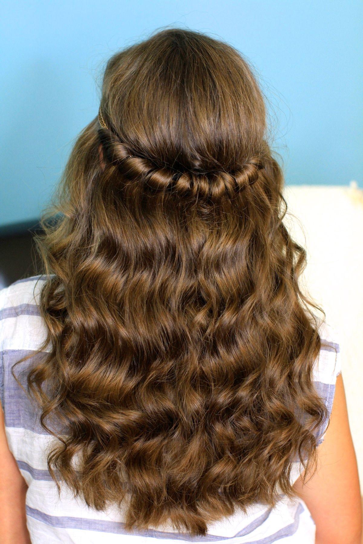 Headband twist half up half down hairstyles cute girls headband twist half up half down hairstyles cute girls hairstyles urmus Gallery