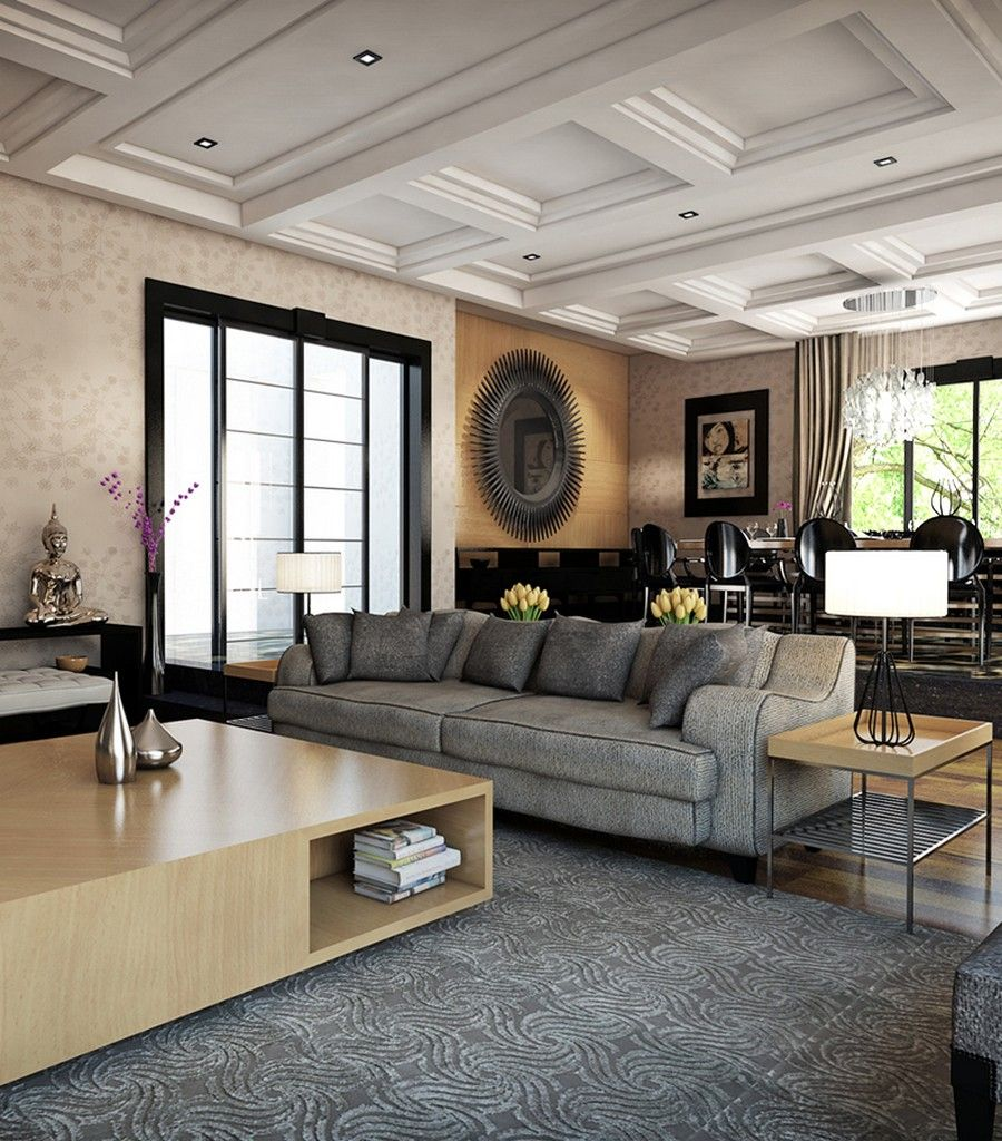 Fascinating Living Space Royally Mixing Design Styles in Ankara