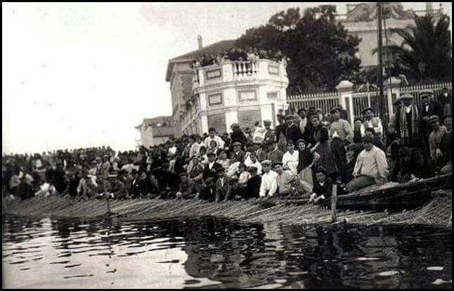La Arrastrà 1920 (redes lastradas). Valencia en Blanco y Negro