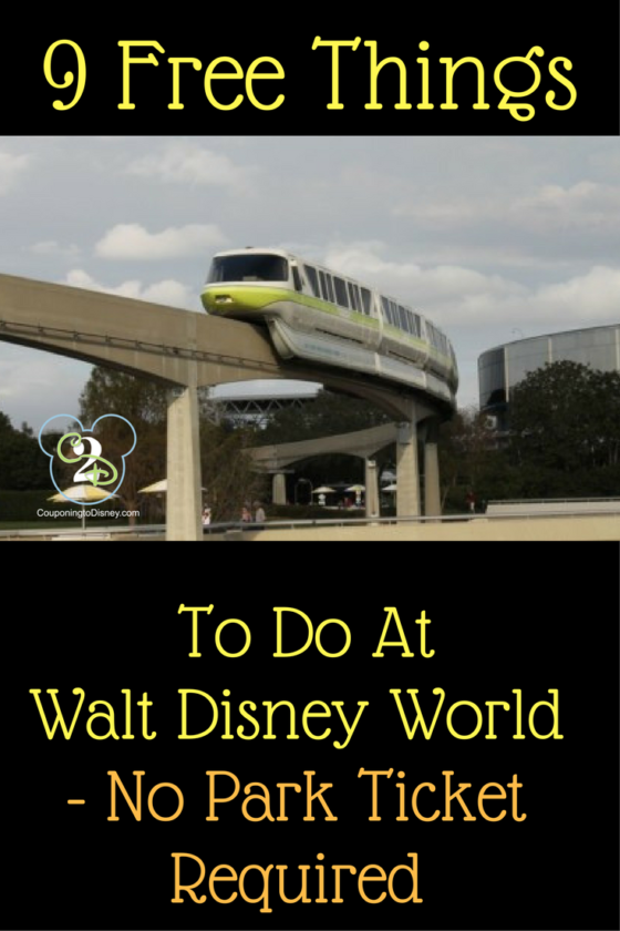 9 Free Things To Do At Walt Disney World