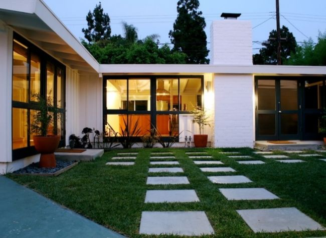 Cliff may california ranch house mid century for California ranch style architecture