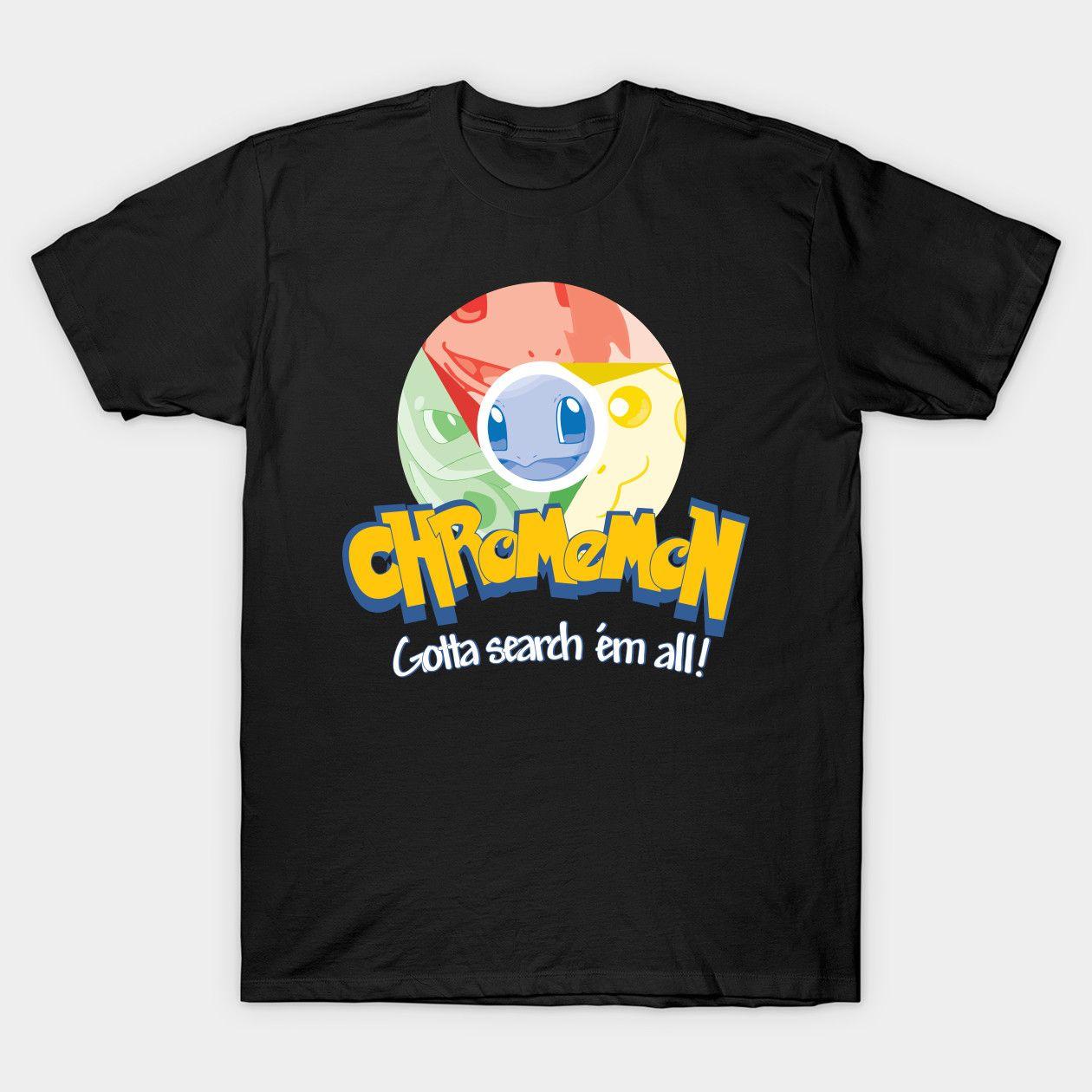 Chromemon Pokemon Classic T Shirt