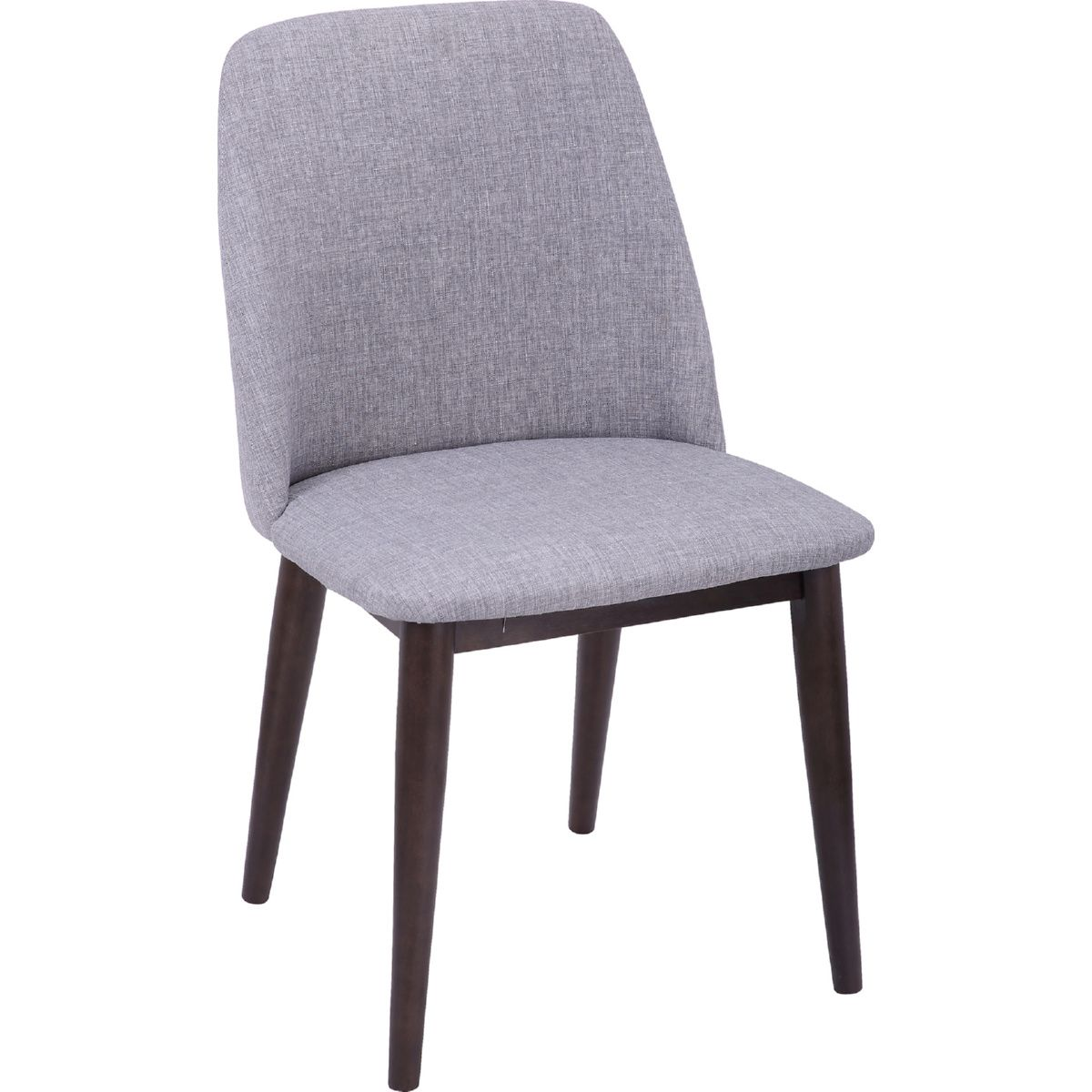 Lumisource Chr Tnt Wl Lgy2 Tintori Dining Chair Light Grey Fabric