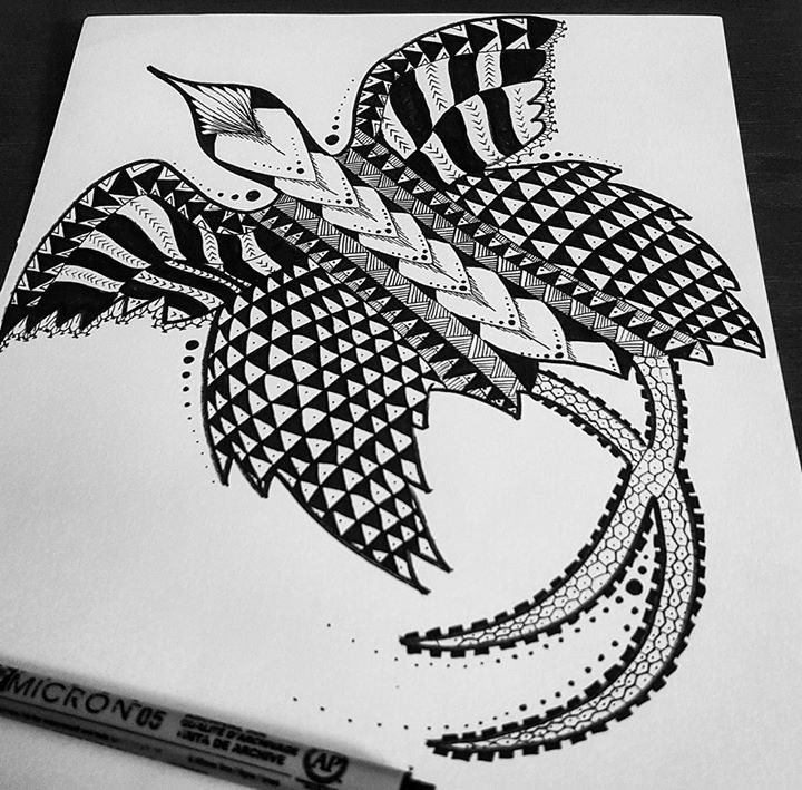 Tribal Version Of The National Bird The Raggiana Bird Of Paradise Aka Kumu Kakau Tatau Mambabato Bird Of Paradise Tattoo Filipino Tattoos Marquesan Tattoos