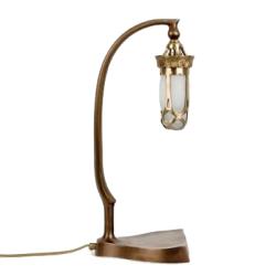 Klassieke Jugendstil Unica Tafellamp Brons