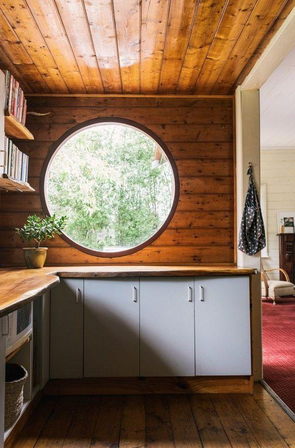 Inspiration für Küchen Fenster