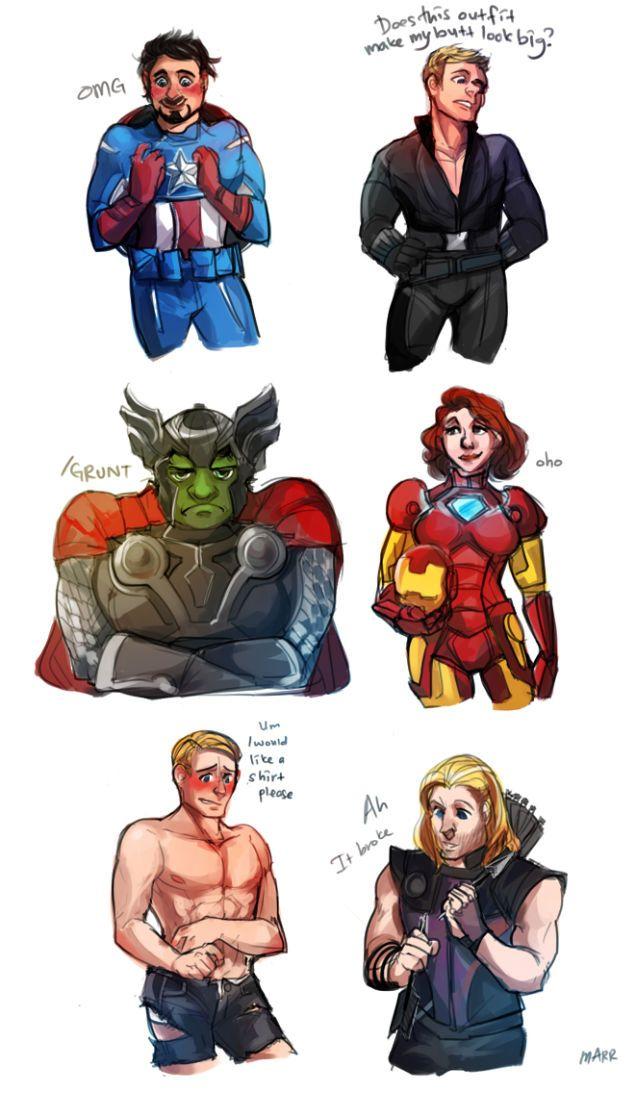 mighty cute avengers the most adorable avengers fan art