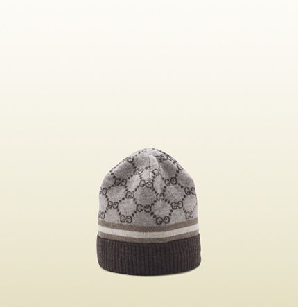0e405612 Gucci GG pattern hat with Web detail | Crown of Thorns' Headdress ...