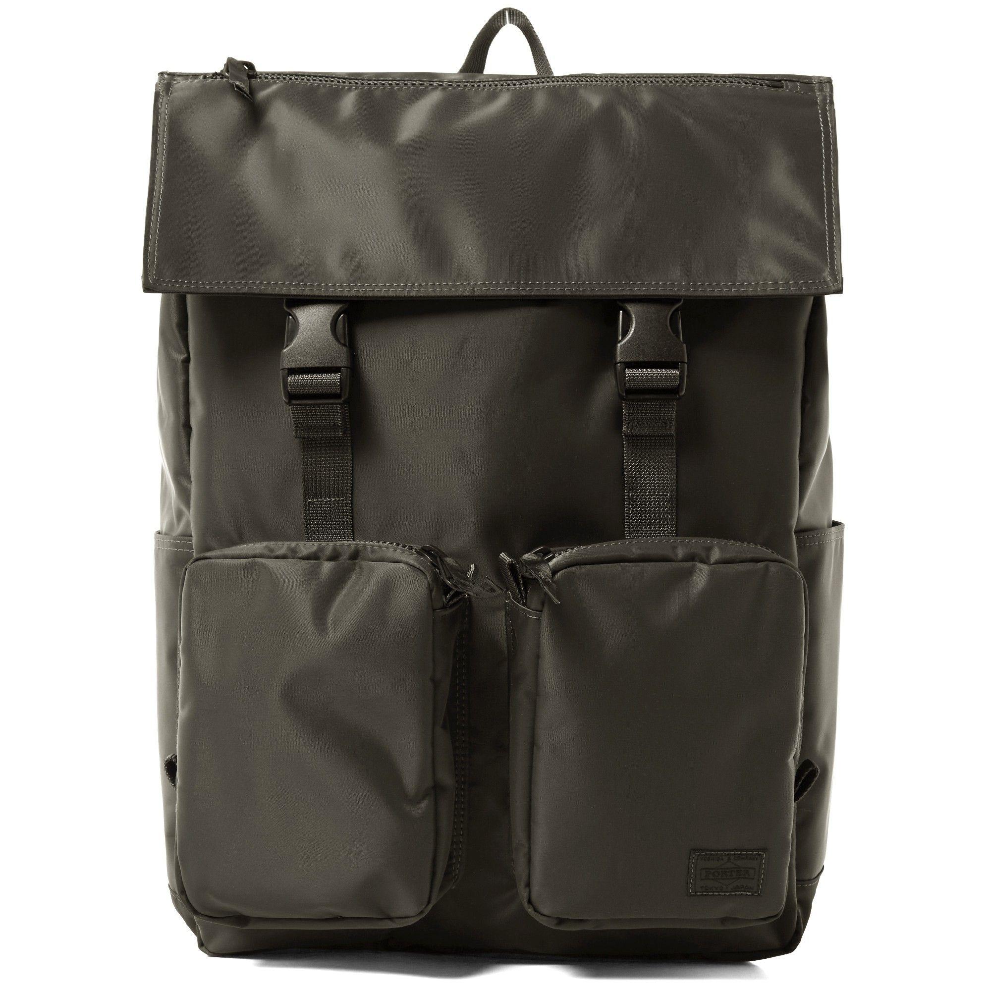 e8affa7a26f9 Head Porter Rucksack (Grey Spirit) Porter Bag