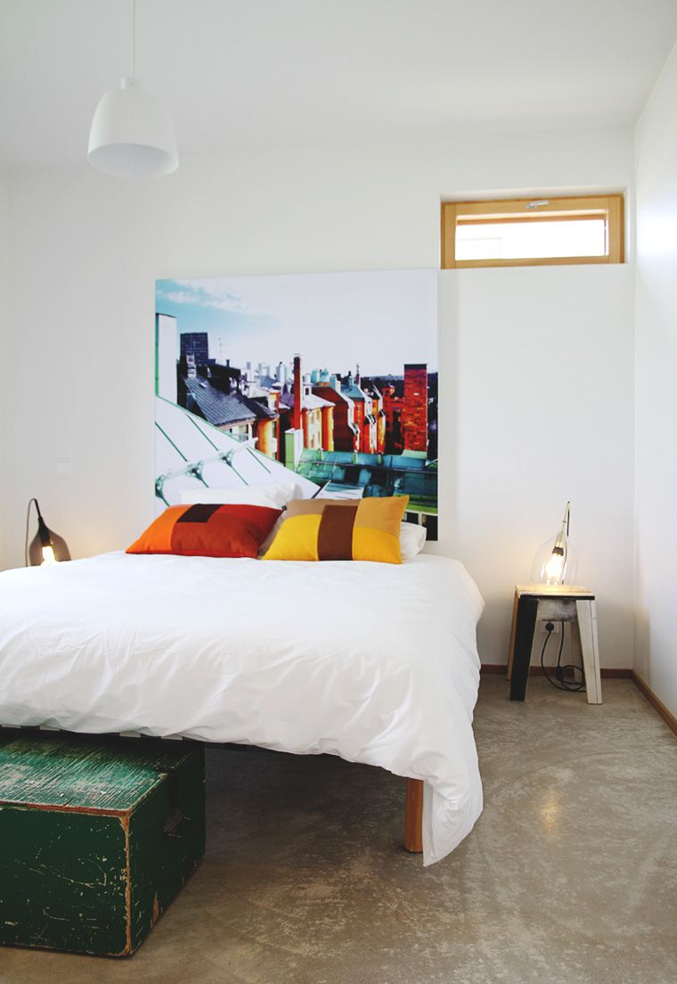 makuuhuone asuntomessut  2013 hunajaista