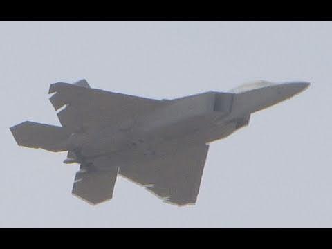 Luke AFB Air Show (Luke Days) 2011 - F-22 Raptor Demo & Heritage Flight