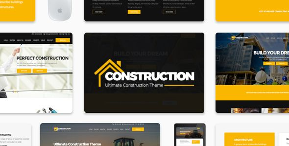 Construction - Ultimate Responsive Construction Template - Corporate Site Templates